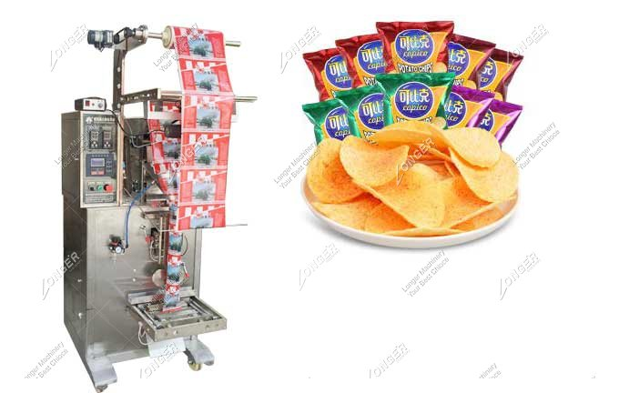 Low Cost Chips Packing Machine