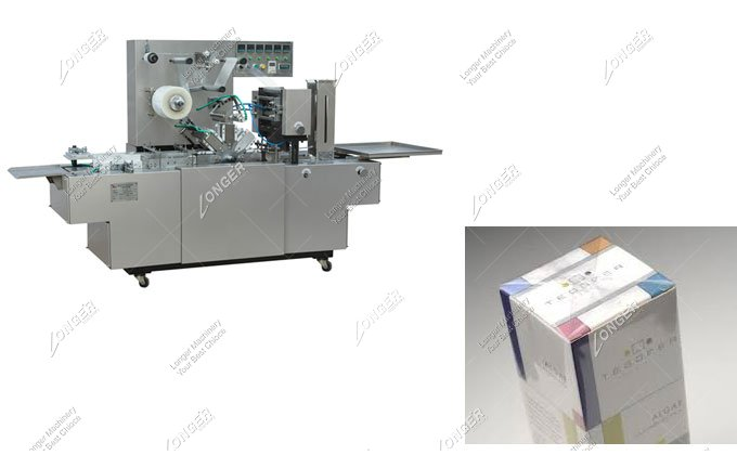 Small Box Cellophane Wrapping Machine to Sale