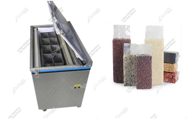 Commercial Grain Rice Vacuum Packing Machine