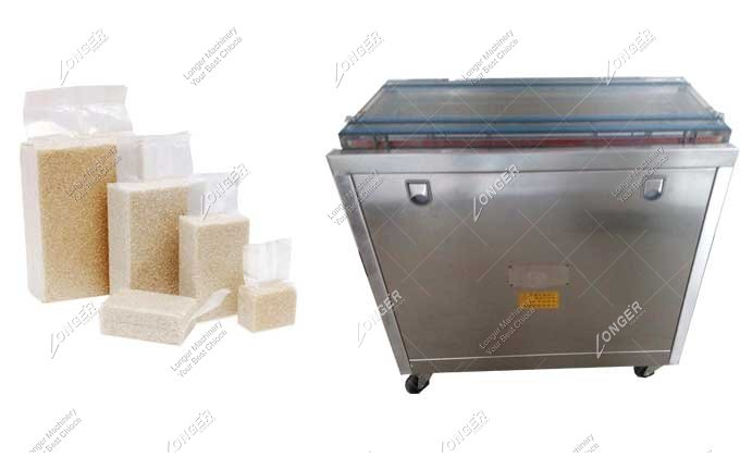 Commercial Grain Rice Vacuum Packing Machine For Sale