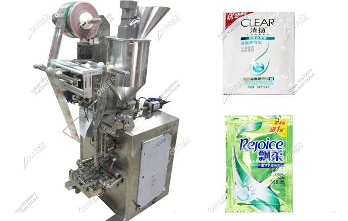 Vertical Automatic Shampoo Sachet Filling Packing Machine For Sale