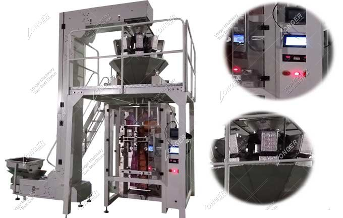 Small Potato Chips Packing Machine For Sale