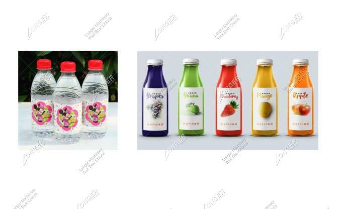 Automatic Round Bottle Labeling Machine For Sale