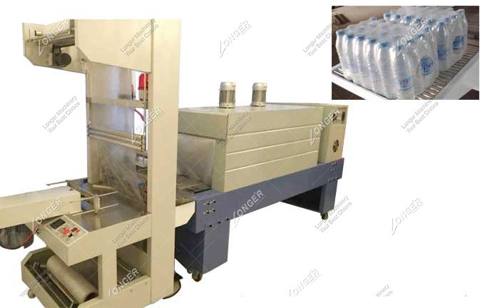 Industrial High Speed Pallet Bottle Shrink Wrapping Machine For Bottle