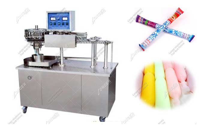 Automatic Plastic Popsicle Packaging And Sealing Machine