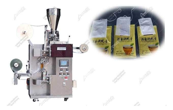 Auto Tea Bag with String and Tag Packing Machine
